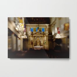 St. Louis Cathedral Interior- New Orleans Metal Print