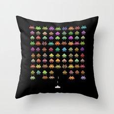 Fashionable Invasion  Throw Pillow