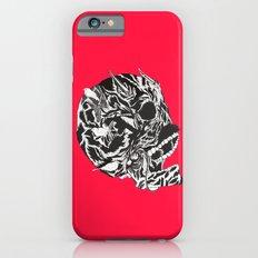 Skull Moustache iPhone 6s Slim Case