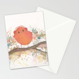 Birds in Music Stationery Cards