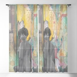 Just As I Am Sheer Curtain