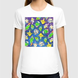 Rockos Modern Life Nickelodeon 90s pattern T-shirt