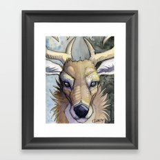 Pennsylvania's State Bird Framed Art Print