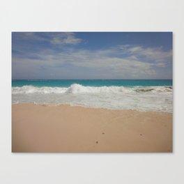 Beautiful Beach Bermuda 3 Canvas Print