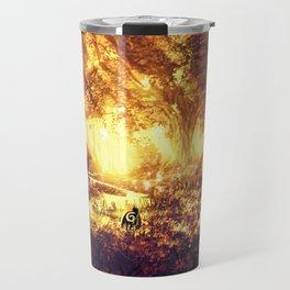 Ashitaka and the Tree Spirits Travel Mug