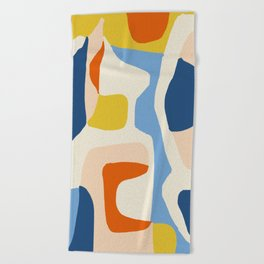 Me & Mine #abstract #painting Beach Towel