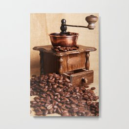 coffee grinder 2 Metal Print