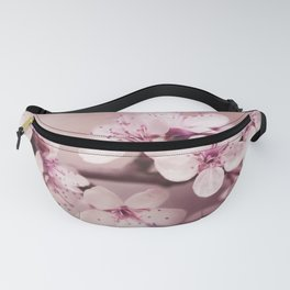 Soft Pink Cherry Blossom Fanny Pack