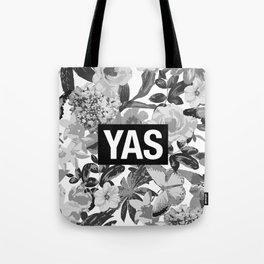 YAS B&W Tote Bag
