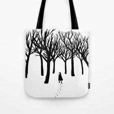 A Tangle of Trees Tote Bag