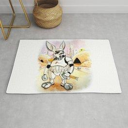 Bunnytrooper Rug