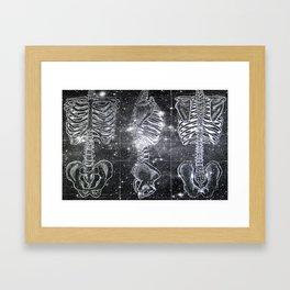 Space Bones Framed Art Print