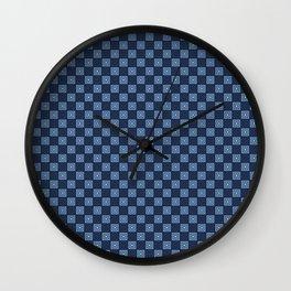 """tenugui""""mimasu"""" Wall Clock"""