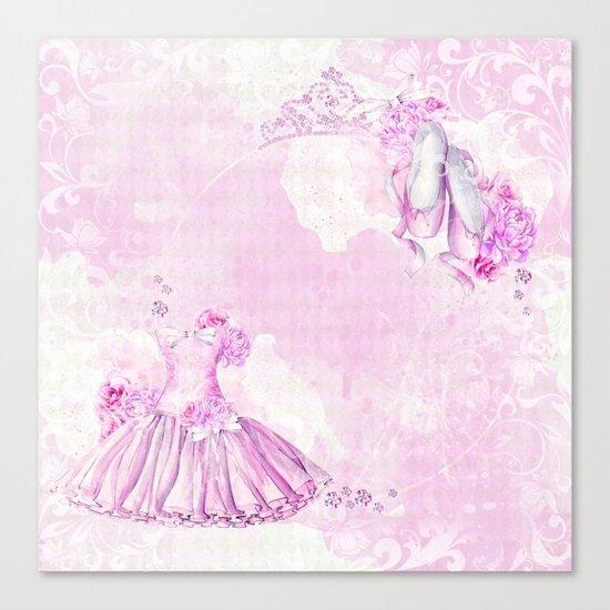 Ballerina #3 Canvas Print
