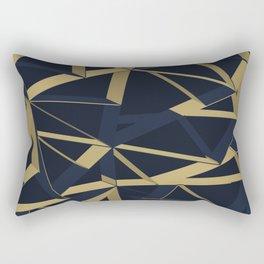 3D Futuristic GEO Lines XIV Rectangular Pillow