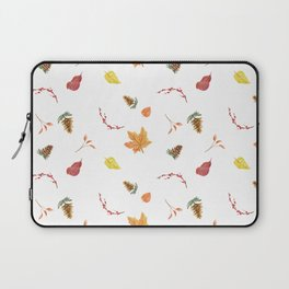 Autumn Fall Leaves Print Laptop Sleeve