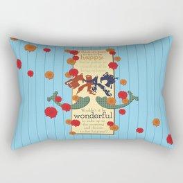 Happy Darling Mermaids Rectangular Pillow