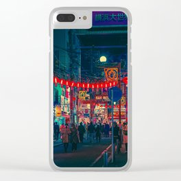 Celebration- Japan Photo at Night Clear iPhone Case