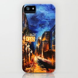 """Leaving New York"" Painting iPhone Case"