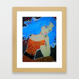 Illuminated Shi Shi Framed Art Print