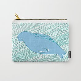 Manatees are Rotund Sea-Mammals Carry-All Pouch