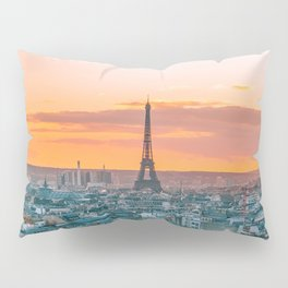 Sunset in Paris (Color) Pillow Sham