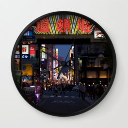 Dotonbori Wall Clock