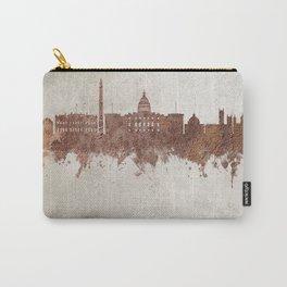 Washington DC Rust Skyline Carry-All Pouch