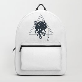 Octopus. Geometric Style Backpack