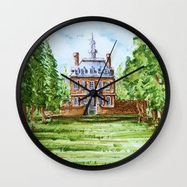 The Governor's Palace Wall Clock