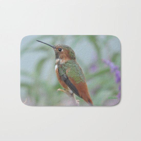 Allen's Hummingbird Sentinel Bath Mat