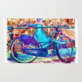 Amsterdam Bicycle Rug