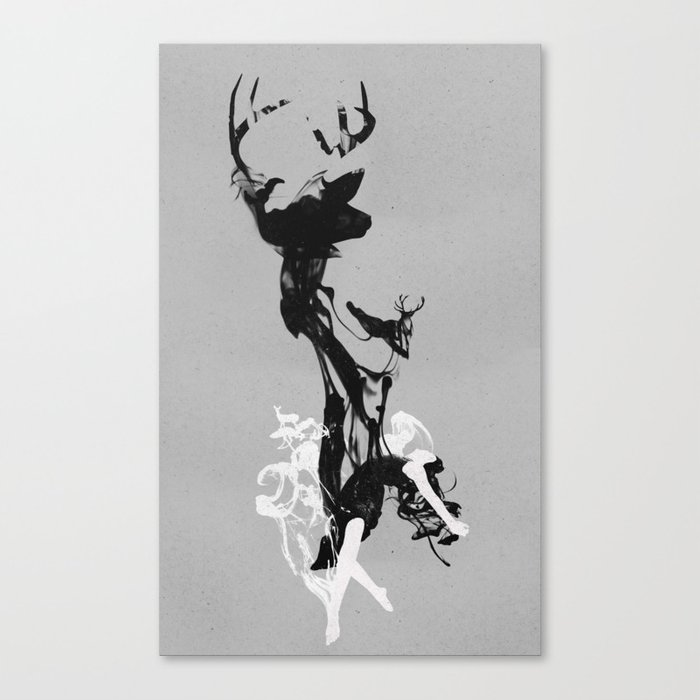 Last time I was a Deer Canvas Print