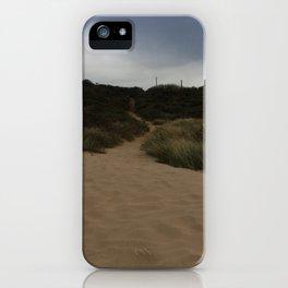 Walk on the beach iPhone Case