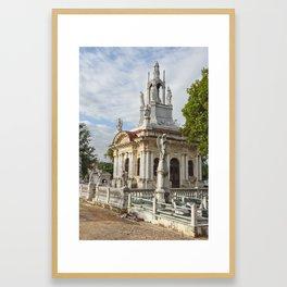Christopher Columbus Necropolis Cemetery Graveyard Havana Cuba Latin America Gothic Architecture Sai Framed Art Print