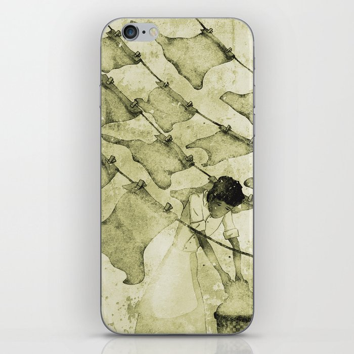 Salt of the earth iPhone Skin