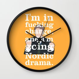 The Thick of It - Fergus Williams Wall Clock