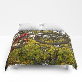 Airtime - Dirt-bike Racer Comforters