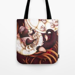 Jazzy Otter Tote Bag