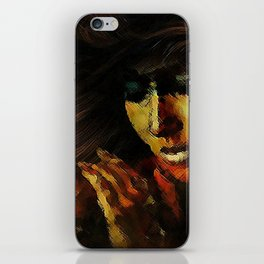 THE MYSTERY OF PAIN iPhone Skin