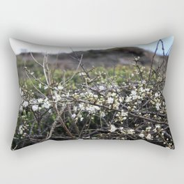 Wild Blackthorn Rectangular Pillow