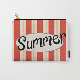 Retro Summer Stripes Carry-All Pouch