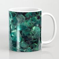 emerald Mugs featuring Emerald by Lotus Effects