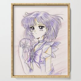 Sailor Saturn Hotaru with Soul Crystal Serving Tray