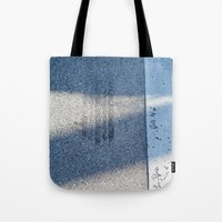 racing Tote Bags featuring STREET RACING by Manuel Estrela 113 Art Miami