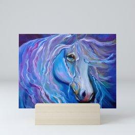 Velvet Horse Mini Art Print