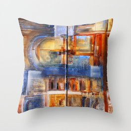 Elemental 1 Throw Pillow