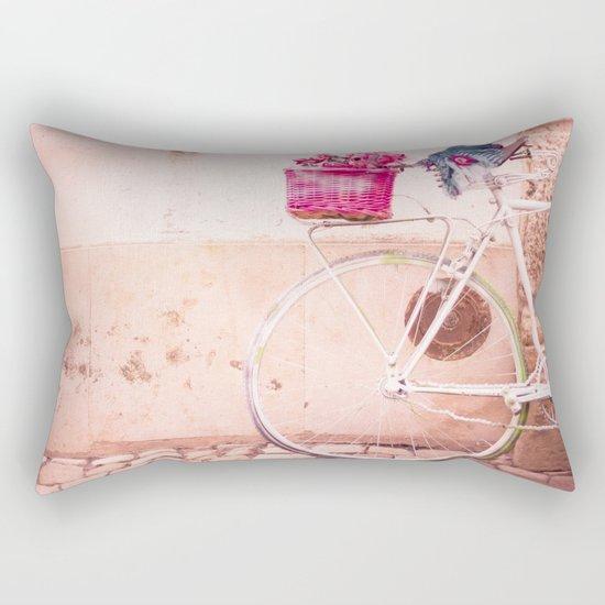 Mine was white Rectangular Pillow