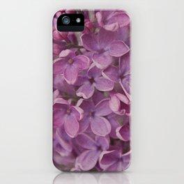 senteur de lilas iPhone Case