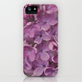 senteur de lilas iPhone Case